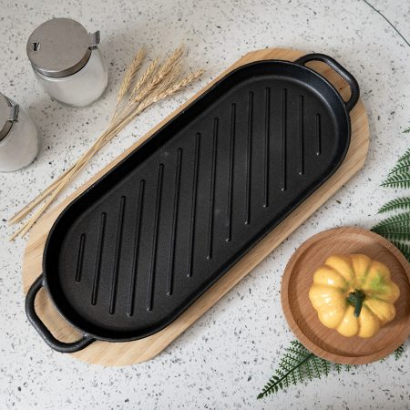 Sizzling Pan With Tray